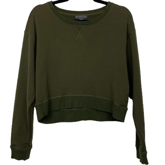 Highline Collective Oversized Cropped Sweatshirt